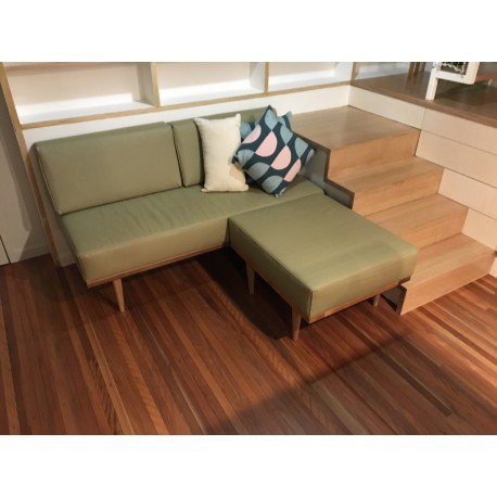 Torsby Daybed configured to create beds in a tight space.