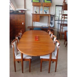 Parker 10 Seater Extension Dining Room Table.