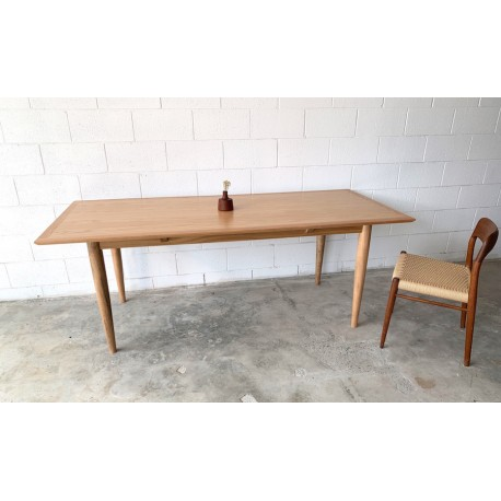 Mid Century Teak Dining Room Table.
