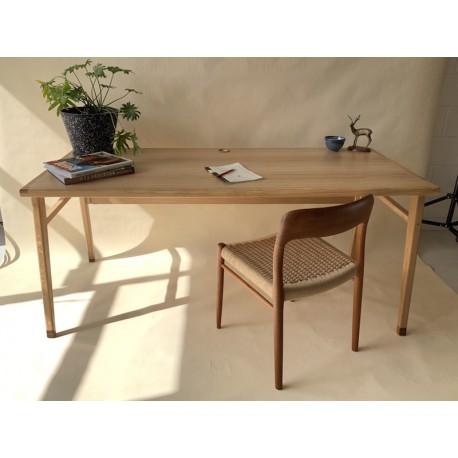 Founds Custom Scandinavian Style Desks - available in Oak or Teak.