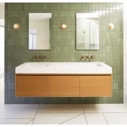Custom Cabinetry by found - Bathroom Vanity.
