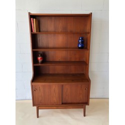 Danish Teak Book Case with adjustable shelves