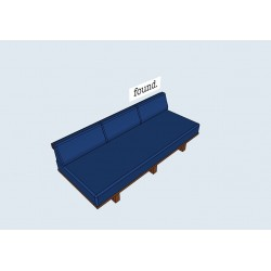 The Norrebro outdoor daybed by found