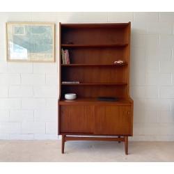 Danish Teak Book Case with adjustable shelves