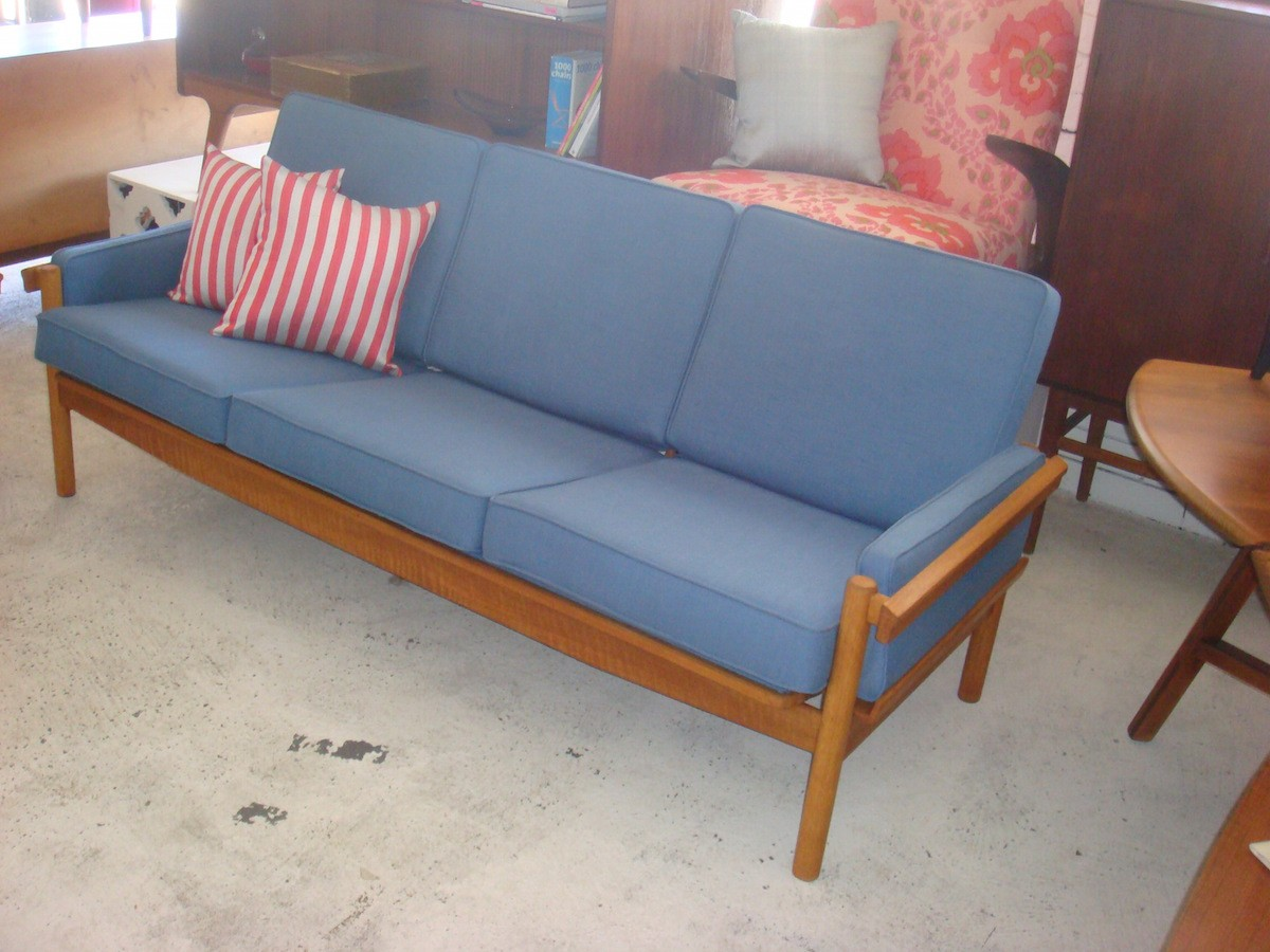 Image of: Mid Century Sofa Found