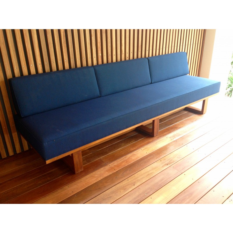The norrebro outdoor daybed by found found for Found furniture