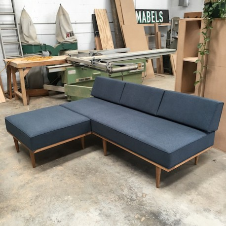 Custom Made Torsby Daybed with Ottoman