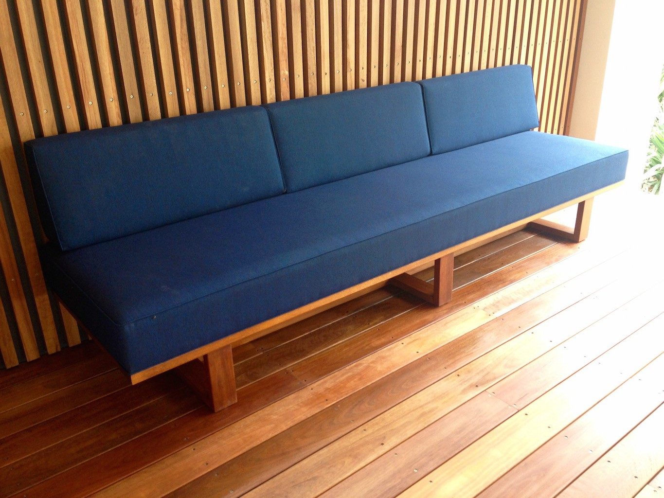 founds' custom made Norrebro daybed - ideal for outdoor use
